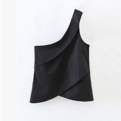 Amoura - Single Shoulder Sleeveless Top