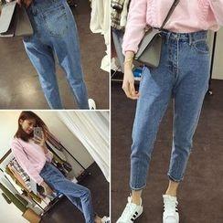 Jeans Kingdom - High Waist Jeans