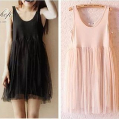 Lacyland - Tulle Tank Dress