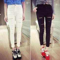 Imogen - 做舊窄身褲