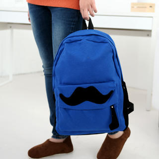 59 Seconds - Moustache Backpack