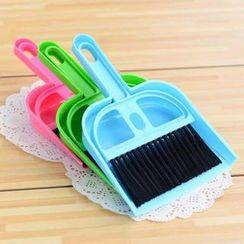 Showroom - Set: Broom + Dust Pan