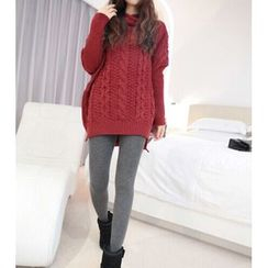 Kasan - Maternity Cable Knit Long Sweater