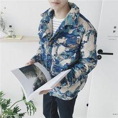 Troopers - Printed Padded Jacket