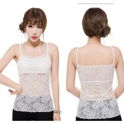 Jackelyn - Lace Panel Camisole