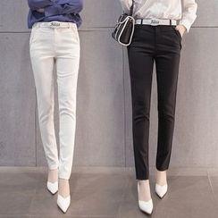 Angel Shine - Plain Slim Fit Pants