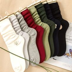 Show Home - Ruched Knit Socks
