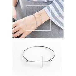 migunstyle - Metallic Cross Bracelet
