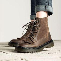 MIAOLV - 散边短靴