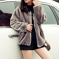 Romantica - Faux-Fur Jacket