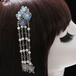 Paparazzi - Tasseled Hair Comb