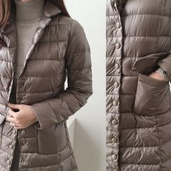 DAILY LOOK - Pocket-Detail Padded Coat