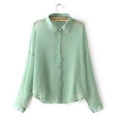 JVL - Crinkle Chiffon Shirt