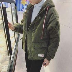 子俊 - 填料燈芯絨夾層夾克