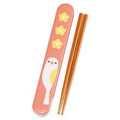 Hakoya - Hakoya 18.0 Slide Chopsticks Box Set Bird PK