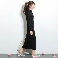 Maymaylu Dreams - Fleece-Lined Hooded Maxi Dress