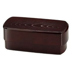 Hakoya - Hakoya Mens Rectangular Mokume Lunch Box Ryuu
