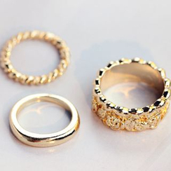 HEDGY - Metal Ring Set
