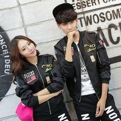 TOOI - Couple Matching Bomber Jacket