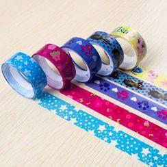 Coco Store - Printed Decoration Tape Set (10pcs)