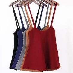 City of Dawn - Ribbed Knit Camisole