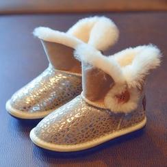 BOOM Kids - Kids Glitter Snow Boots