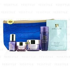 Estee Lauder 雅詩蘭黛 - Travel Set: Optimizer 30ml + Neck Creme 15ml + Eye Creme 5ml + Perfectionist [CP+R] 7ml + Eye Mask + Bag