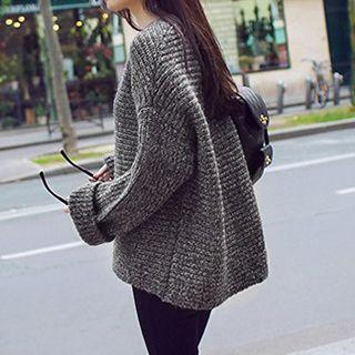 芙苪FR - 袖口袖粗織毛衣