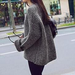 FR - Boxy Chunky Knit Sweater