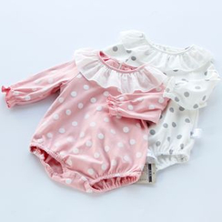MOM Kiss - Baby Polka Dot Bodysuit