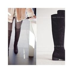 MASoeur - Faux-Suede Knee-High Boots