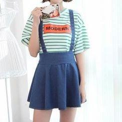 Fashion Street - Denim Jumper Skirt