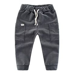 DEARIE - Kids Plain Sweatpants