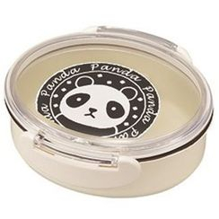 Miyamoto Sangyo - Animal Stamp Oval Tight Lunch Box Panda