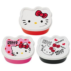 Skater - Hello Kitty Mini Food Box Set (3 Pieces)