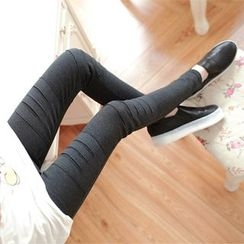 Shandie - Slashed Maternity Leggings