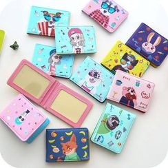 School Time - Cartoon Card Holder