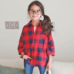 Cuckoo - Kids Plaid Shirt