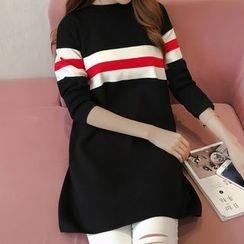 Gemuni - Stripe Knit Dress