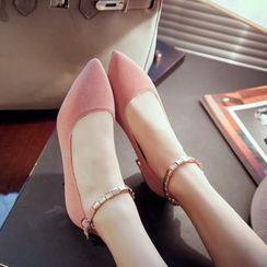 錦洋鞋業 - 踝帶高跟鞋
