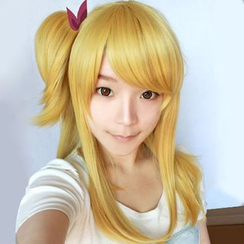 Ghost Cos Wigs - Cosplay Wig - Fairy Tail Lucy Heartfilia