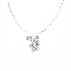 Glamagem - 12生肖動物吊飾 - 如意兔 - 連手鍊