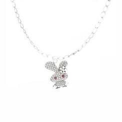 Glamagem - 12生肖动物吊饰 - 如意兔 - 连手链