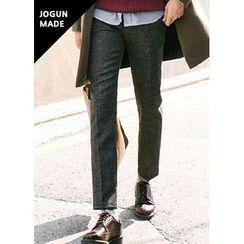 JOGUNSHOP - Flat-Front Slim-Fit Pants