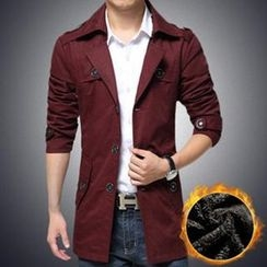 Alvicio - Fleece-Lined Trench Coat