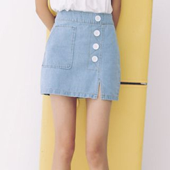 Woodie - Denim Skirt