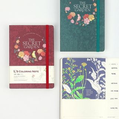BABOSARANG - 'THE SECERET GARDEN' Coloring Note Book (S)