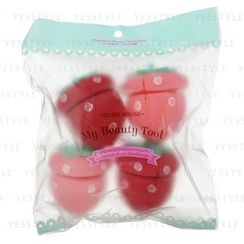 Etude House - My Beauty Tool Strawberry Sponge Hair Curlers