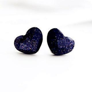Gossip Girl - Heart Studs