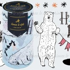 Aimez le style - Aimez le style Masking Tape Grand Happy Polar Bear